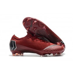 Scarpe Da Calcio Nike Mercurial Vapor XII 360 Elite FG Uomo Rosso Nero