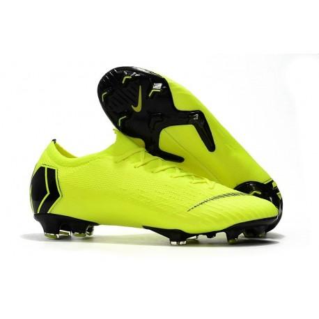 Scarpe Da Calcio Nike Mercurial Vapor XII 360 Elite FG Uomo Giallo Fluorescente