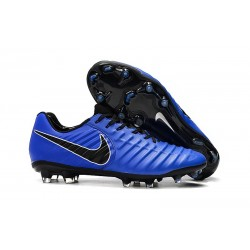 Uomo - Scarpa da Calcio Nike Nuovo Tiempo Legend 7 FG - Blu Nero