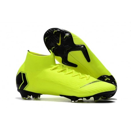 Scarpe Da Calcio Nike Mercurial Superfly VI 360 Elite FG - Uomo Giallo Fluorescente