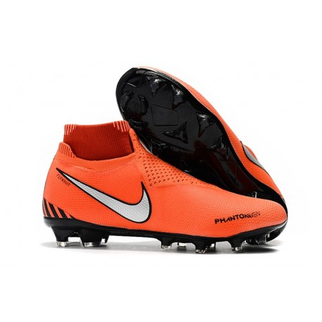 Scarpe da Calcio Nike Phantom Vision Elite DF FG Rosso Nero Bianco