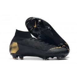 Scarpe Da Calcio Nike Mercurial Superfly VI 360 Elite FG - Uomo Oro Nero