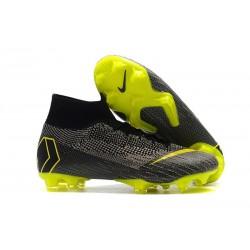 Scarpe Da Calcio Nike Mercurial Superfly VI 360 Elite FG - Uomo Grigio Giallo