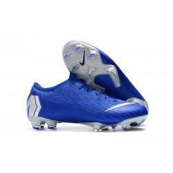 Scarpe Da Calcio Nike Mercurial Vapor XII 360 Elite FG Uomo Blu Argento