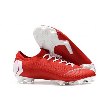 Scarpa Da Calcio Nike Mercurial Vapor XII 360 Elite FG Rosso Bianco