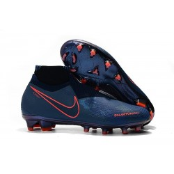 Scarpe da Calcio Nike Phantom Vision Elite DF FG Fully Charged Blu