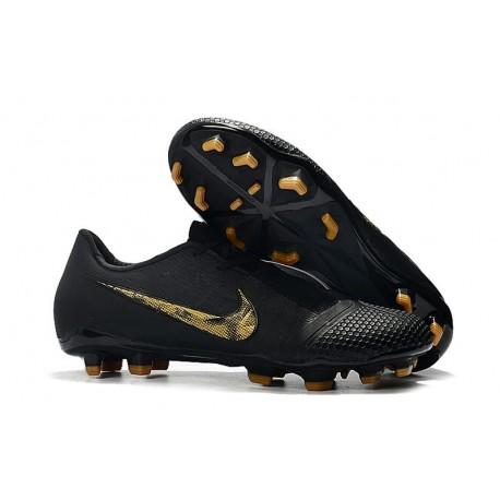 Nike Scarpa Phantom VNM Elite FG Nero Oro