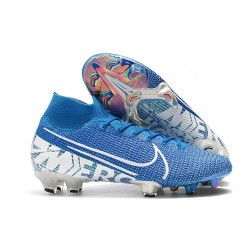 Scarpe Nike Mercurial Superfly VII Elite FG New Lights Blu