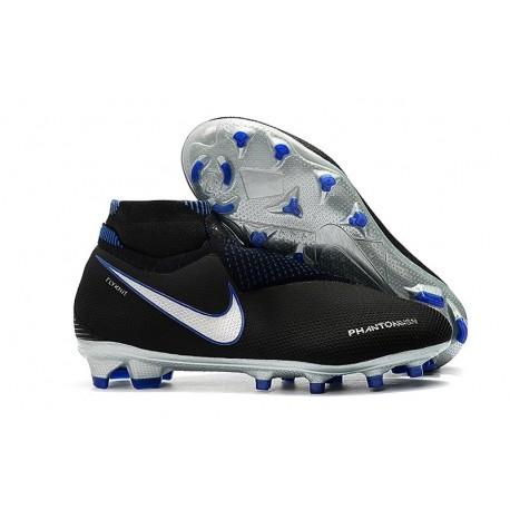 Scarpe da Calcio Nike Phantom Vision Elite DF FG Nero Blu