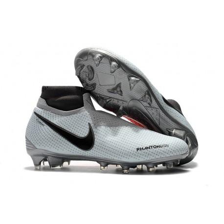 Scarpe da Calcio Nike Phantom Vision Elite DF FG Grigio Rosso