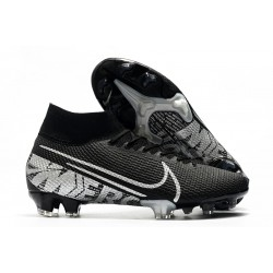 Nike Mercurial Superfly 7 Elite FG Scarpa Calcio -Nero Grigio Cool