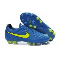 NIKE Nike Tiempo Legend V fg scarpe sportive calcio uomo Blu Giallo