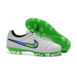 Scarpe da Calcio Nike Scarpe Nike Tiempo Genio Bianco Verde