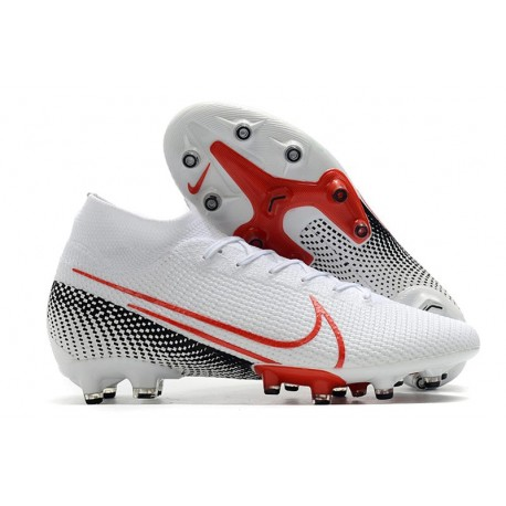 Nike Mercurial Superfly VII Elite AG-Pro Bianco Rosso