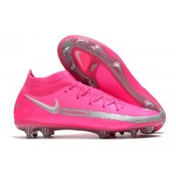 Nike Scarpe Calcio Phantom Gt Elite DF Fg Rosa Argento