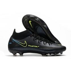 Scarpa Nuovo 2021 Nike Phantom Gt Elite DF Fg Nero Giallo