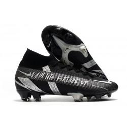 Scarpe Nike Mercurial Superfly VII Elite FG Future Nero Argento