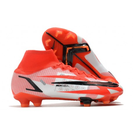 Nike Superfly 8 Spark Positivity CR7 Elite FG Rosso Cile Nero Ghost